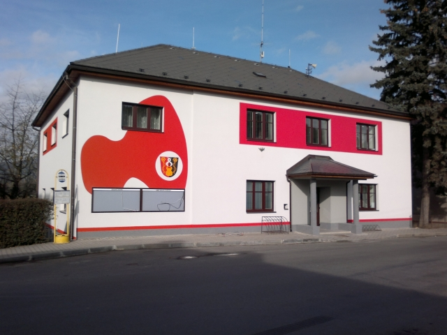 Energetické úspory - budova OÚ Dolní Studénky