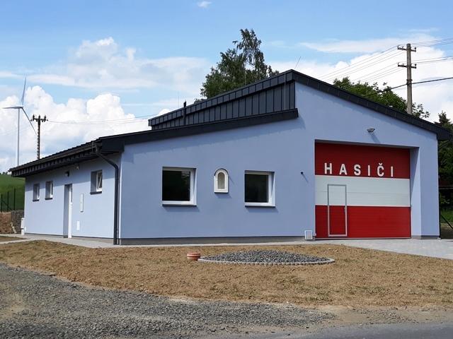 Novostavba hasičské zbrojnice JSDH - Obec Maletín