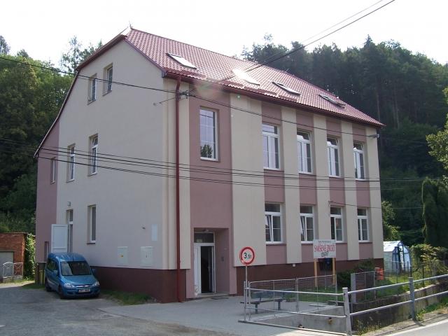 Zateplení budovy čp. 33 v k.ú. Lupěné