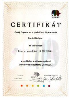 Certifikat-CAPAROL-2010-Kaspar